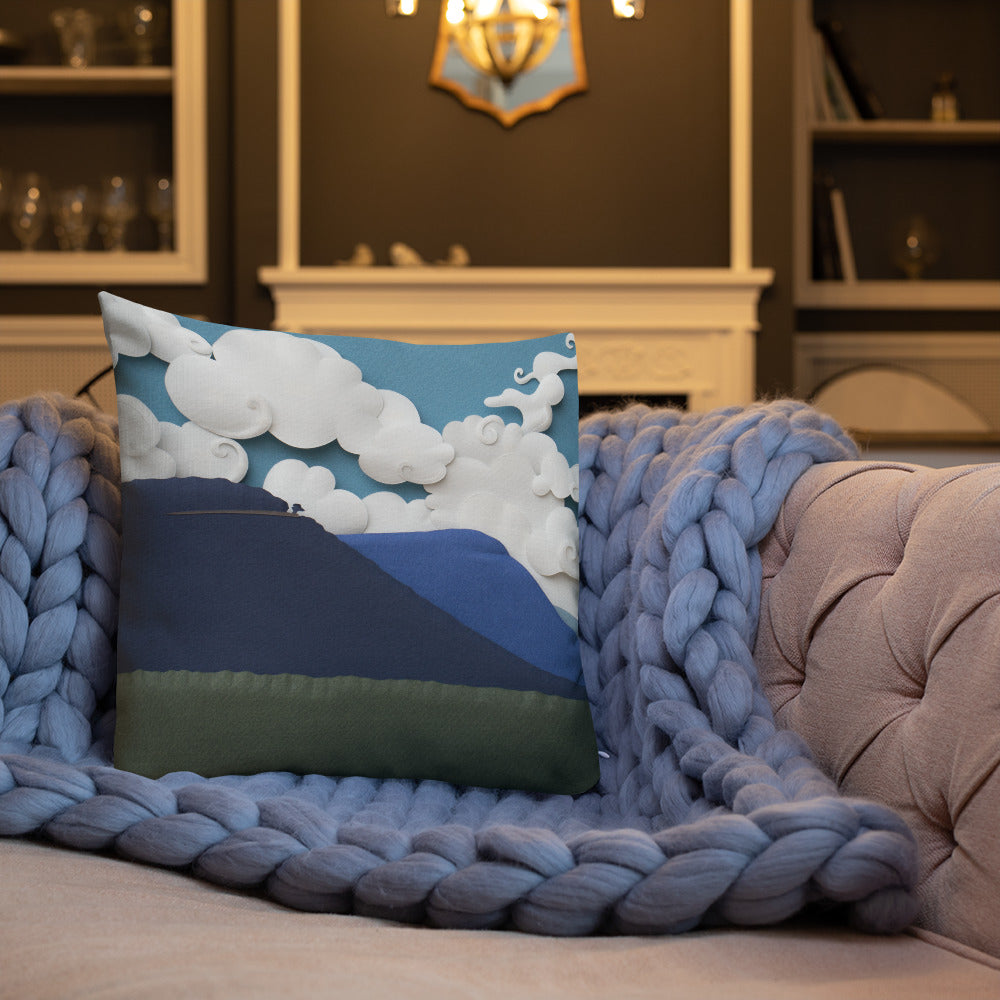 Shenandoah Sunset Pillow Art In The Valley Llc