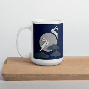Moon Rabbits Mug