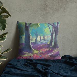 Enchanted Forest Pillow