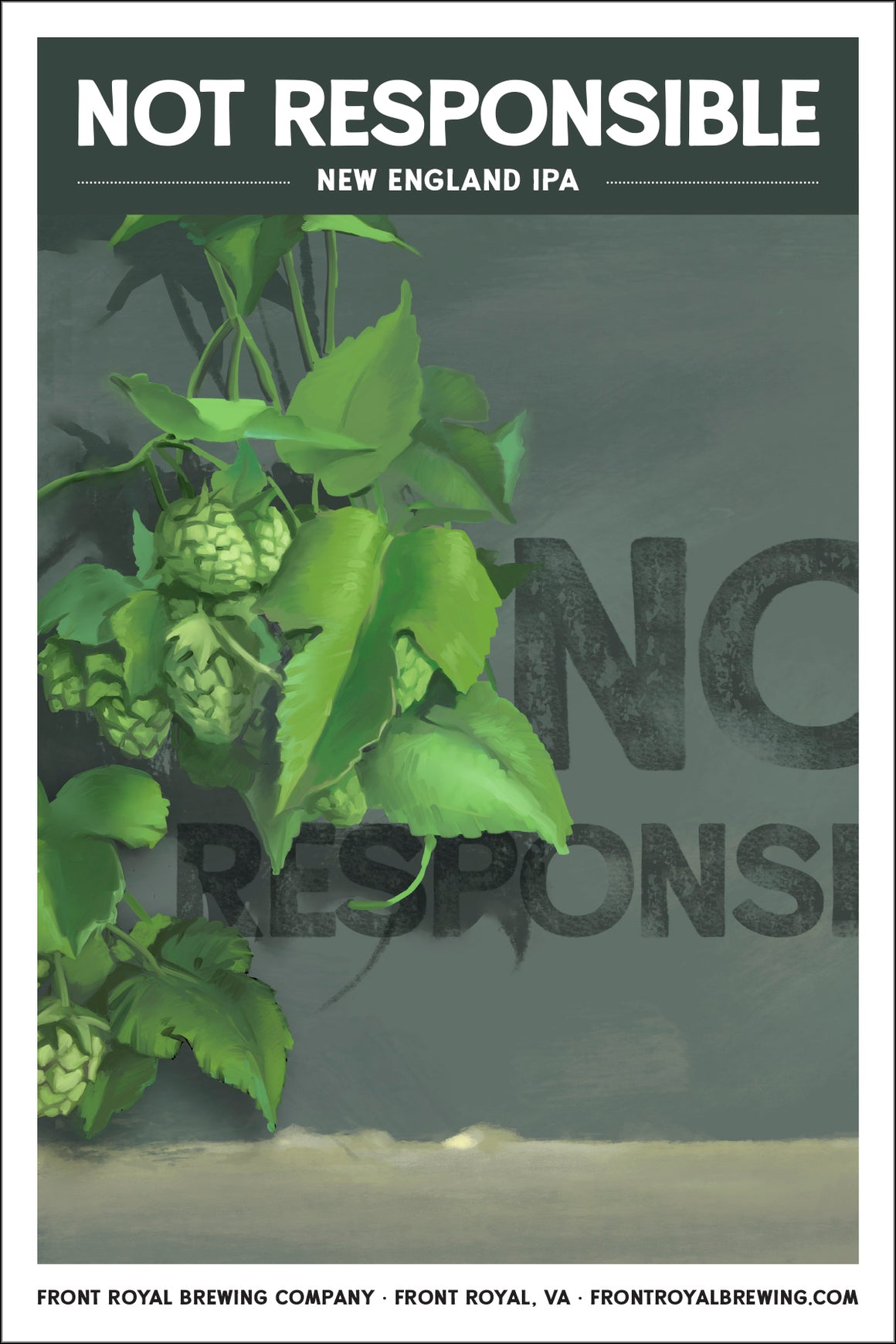 Not Responsible Art Print