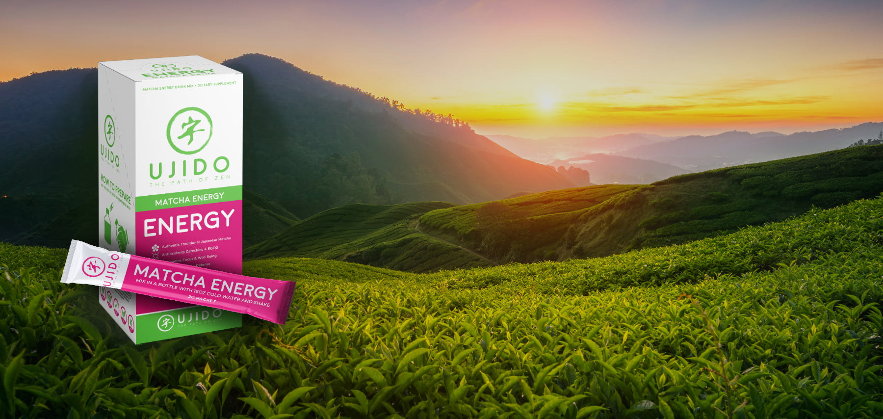 Matcha Energy is a Pre-Workout, Vitamin Enriched Matcha with B Vitamins and Vitamin C for Energizing Life