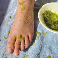 Matcha Foot Scrub