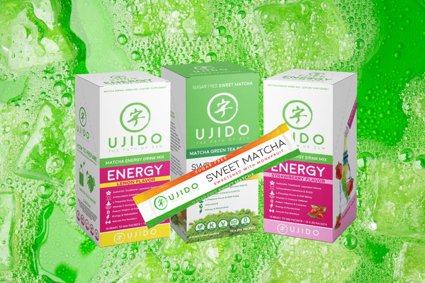 Sweet Matcha or Energy Packets for Seltzer