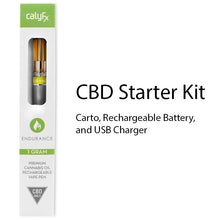 Endurance CBD only Rechargeable pen with Cartomizer and Charger.