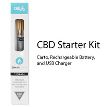 Shape Vape CBD only Rechargeable pen with Cartomizer and Charger.