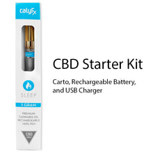 Sleep CBD only Rechargeable pen with Cartomizer and Charger.