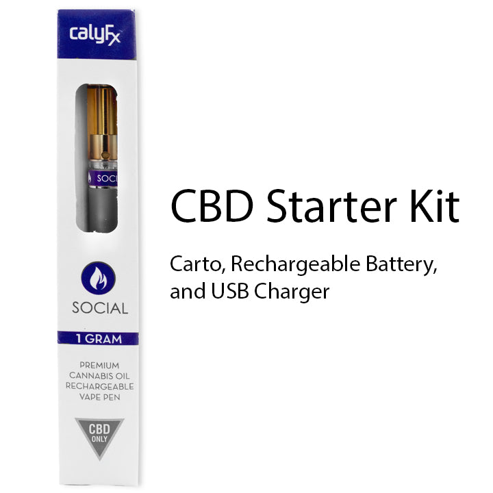Caly Carto - Social CBD Kit (Battery + Carto)