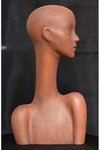 antique rust elegant abstract Evie display head