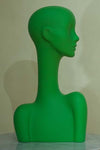 apple green elegant abstract Evie display head