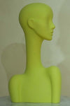yellow elegant abstract Evie display head