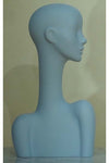 sky gray elegant abstract Evie display head