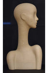 paper mache elegant abstract Evie display head