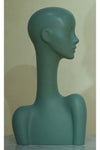 verdigris elegant abstract Evie display head