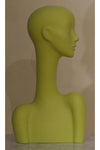 soft green elegant abstract Evie display head