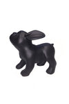 black standing French bulldog puppy mannequin