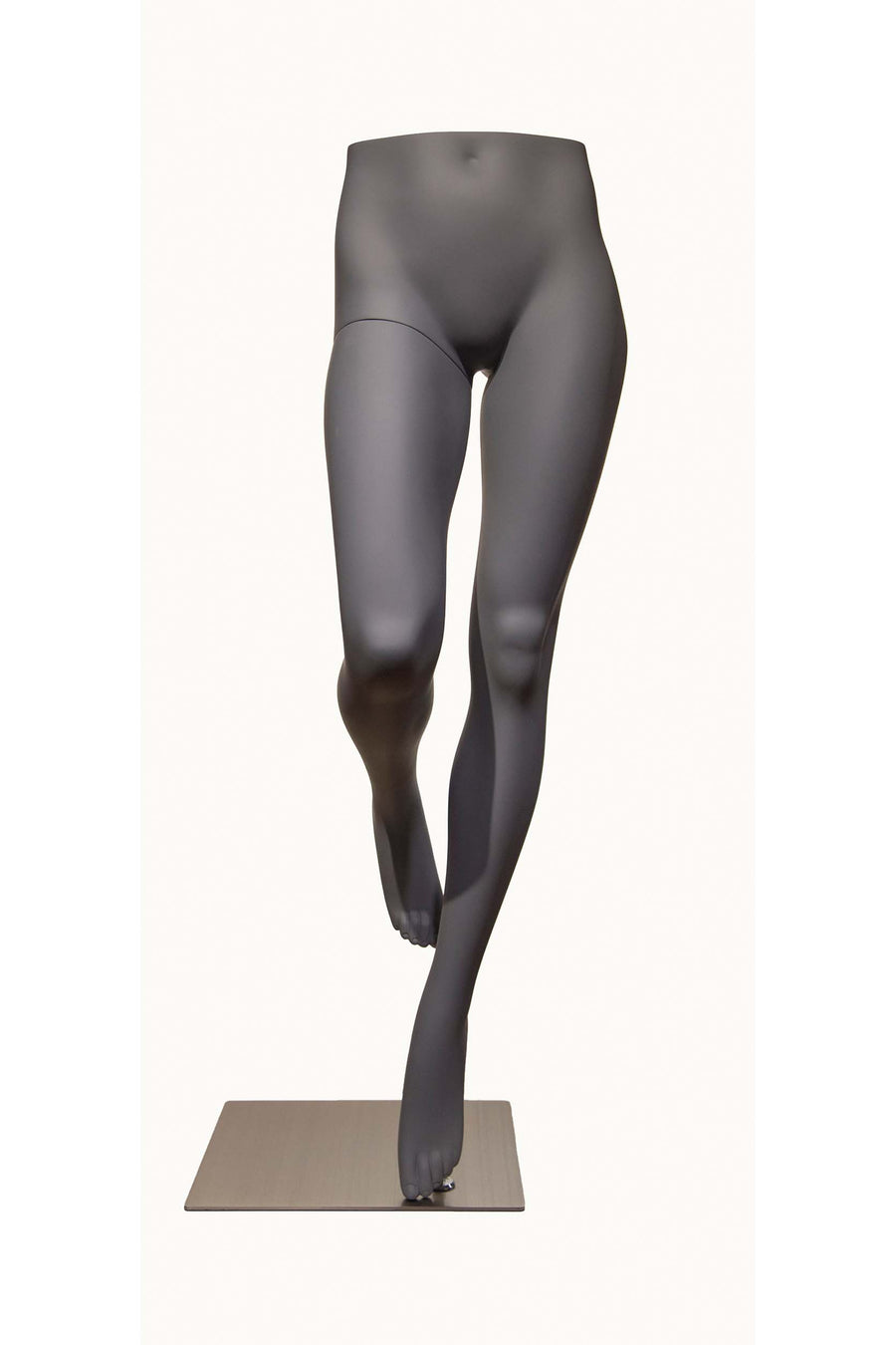 grey female mannequin legs with no torso