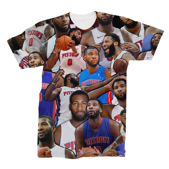 Andre Drummond 3D Collage Face T-Shirt