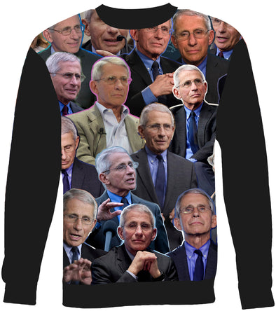 Anthony Fauci Photo Collage Sweatshirt