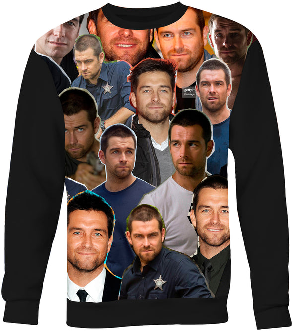 Antony Starr Photo Collage Sweatshirt