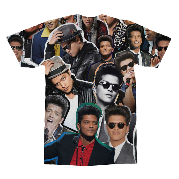 Bruno Mars tshirt back