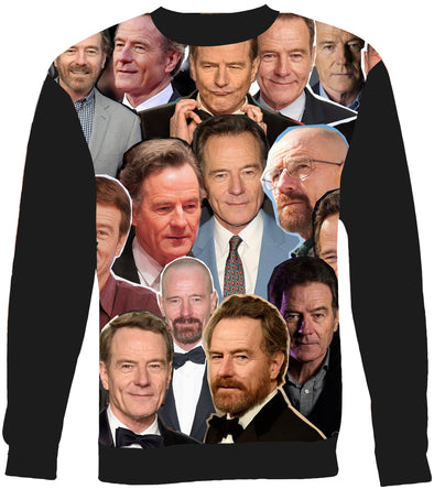 Bryan Cranston Photo Collage Sweatshirt