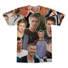 Chad Michael Murray tshirt back