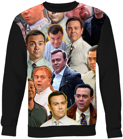 Charles Boyle Brooklyn 99  Photo Collage Sweatshirt