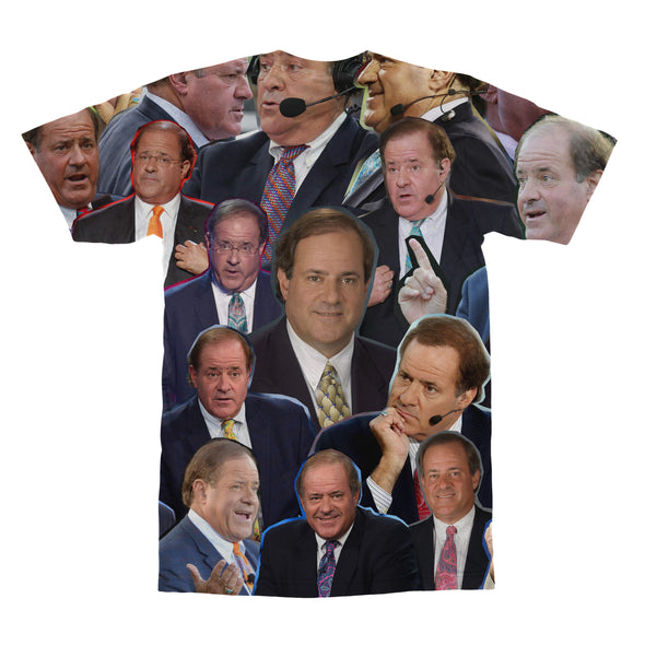 Chris Berman tshirt back