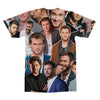 Chris Hemsworth tshirt back