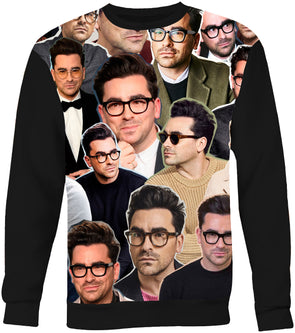 Daniel Levy Photo Collage Sweatshirt