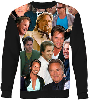 Don Johnson sweatshirt