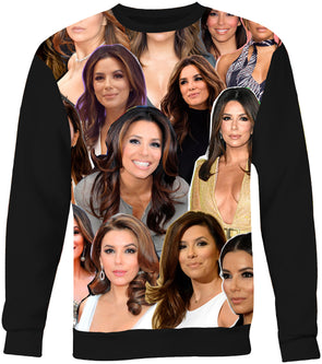 Eva Longoria Photo Collage Sweatshirt