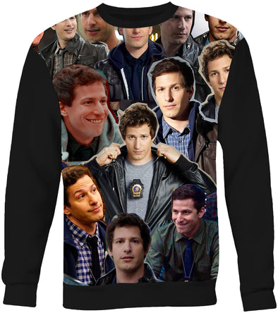 Jake Peralta Brooklyn 99 Photo Collage Sweatshirt