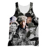 James Coburn tank top