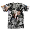 James Coburn tshirt back