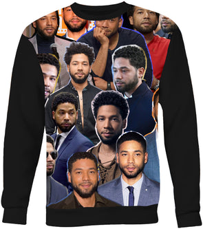 Jussie Smollett Photo Collage Sweatshirt