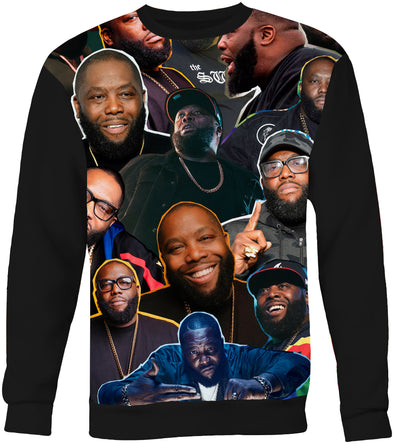 Killer Mike Photo Collage Sweatshirt