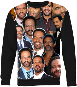 Kristoff St. John Photo Collage Sweatshirt