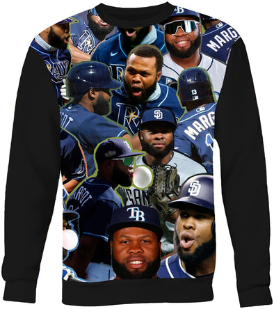 Manuel Margot Photo Collage Sweatshirt