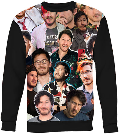 Markiplier Photo Collage Sweatshirt