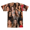 Minka Kelly tshirt back