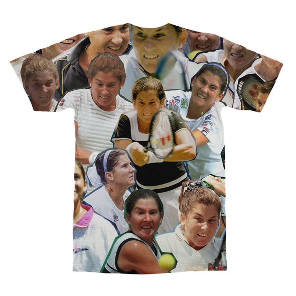 Monica Seles tshirt back
