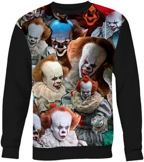 Pennywise (It) Photo Collage Sweatshirt