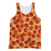 Pepperoni Pizza tank top