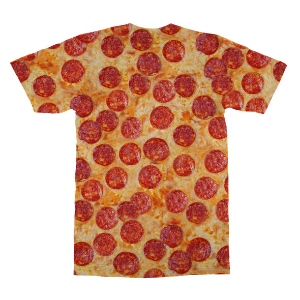 Pepperoni Pizza tshirt back