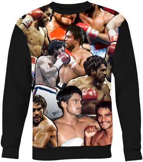 Roberto Durán Photo Collage Sweatshirt