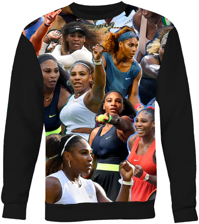 Serena Williams Photo Collage Sweatshirt