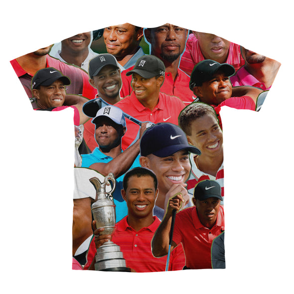 Tiger Woods tshirt back