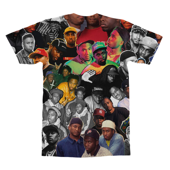 A Tribe Called Quest tshirt back