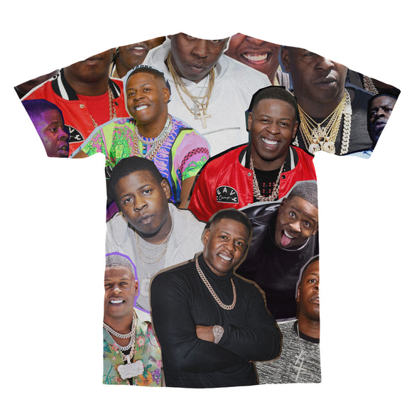 Blac Youngsta tshirt back
